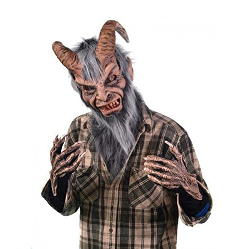 Krampus Costumes - Zagone Studios Men's Krampus Costume Kit, Black, One Size