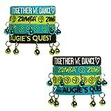Zumba Unisex Together We DanceTM Rubber Bracelets - 8 Pack