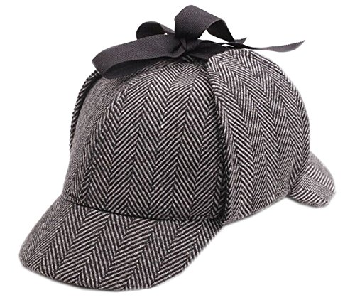 Sherlock Hat (CHILD Sherlock Holmes Hat Deerstalker Hat (Circumference- 21