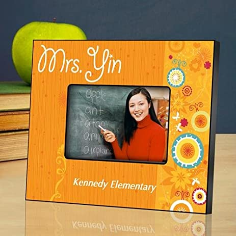 Amazon.com - Personalized Picture Frames for Teachers - Sunshine ...