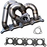 XS Power 3mm Cast Piping Turbo Manifold Superior Durability for 1.8T B5 Audi A4 VW