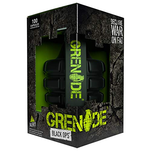 Grenade Black Ops Weight Management Capsules – Pack of 100 Capsules