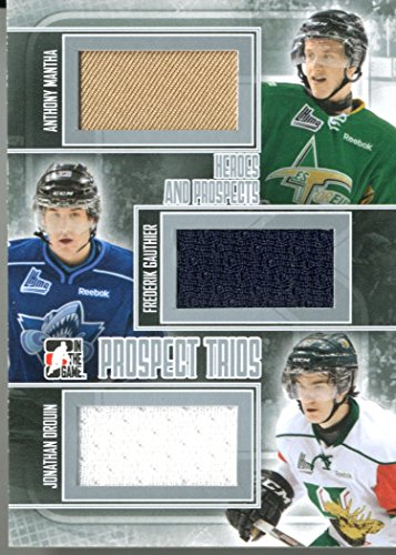 2013-14 ITG Heroes & Prospects Trios Jersey Silver Reinha...