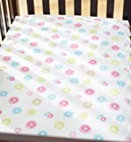 Summer Infant Crib Sheet, Petals (Discontinued by Manufacturer)