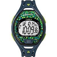 Timex IRONMAN® Sleek 50 Full Size Watch - Blue/Lime