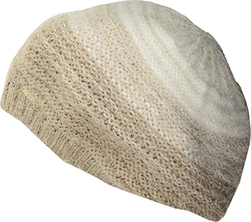 Calvin Klein Women's Ombre Eyelash Beret Heathered Almond One Size