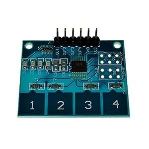 Touch Sensor Module 4 Channels