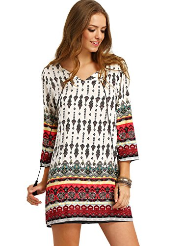 Floerns Womens Bohemian Floral Ethnic product image