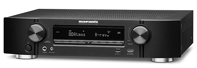 Marantz NR1607 50W 7.2canales Envolvente 3D Negro - Receptor AV (50 W, 7.2 Canales, Envolvente, 100 W, Terminales de Abrazadera, Alámbrico): Amazon.es: ...