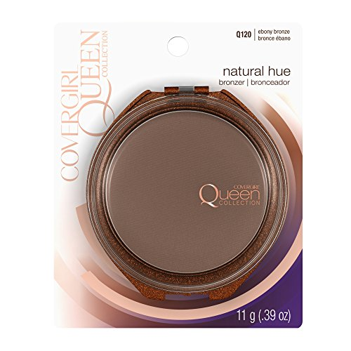COVERGIRL Queen Natural Hue Mineral Bronzer Ebony Bronze, .39 oz (packaging may vary) - Cover Bronzer Girl