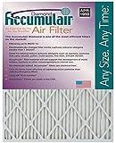 Accumulair Diamond 20x25x1 (19.5x24.5) MERV 13 Air Filter/Furnace Filters (6 pack)