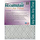 Accumulair Diamond 20x25x1 (19.5x24.5) MERV 13 Air Filter/Furnace Filters (6 pack)