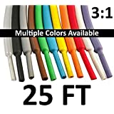 """Electriduct 1.25"""" Heat Shrink Tubing 3:1 Ratio - 25FT (Clear)"""