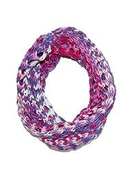Grand Sierra Kid's Spacedye Knit Infinity Scarf, Pink