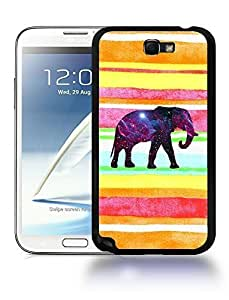 Aztec Tribal Space Elephant Hipster Pattern Phone Case Cover Designs for Samsung Galaxy Note 2 Kimberly Kurzendoerfer