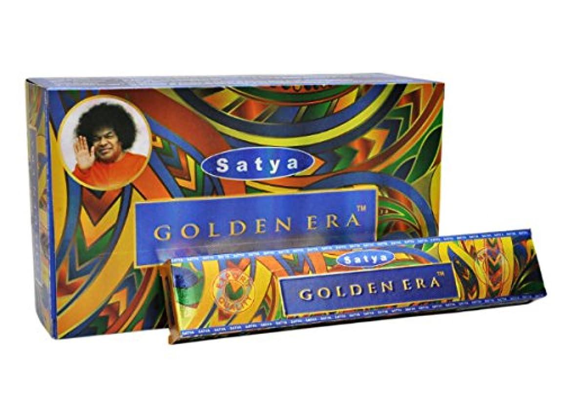 モデレータ懇願する他の場所Satya Golden Era お香スティック 180gフルボックス