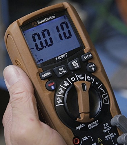 Southwire Tools & Equipment 14090T TechnicianPRO Auto-Ranging TrueRMS Digital Multimeter with MApp Mobile App by Southwire Tools & Equipment (Image #2)