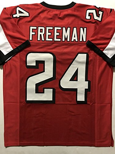 Unsigned Devonta Freeman Atlanta Red Custom Stitched Football Jersey Size Mens Xl New No Brands Logos