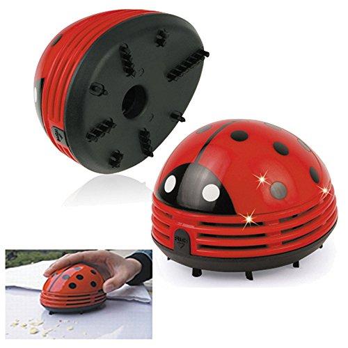 (❤Ywoow❤ Vacuum, Cute Mini Beetles Corner Desk Table Dust Vacuum Micro Cleaner Sweepers Cleaning)