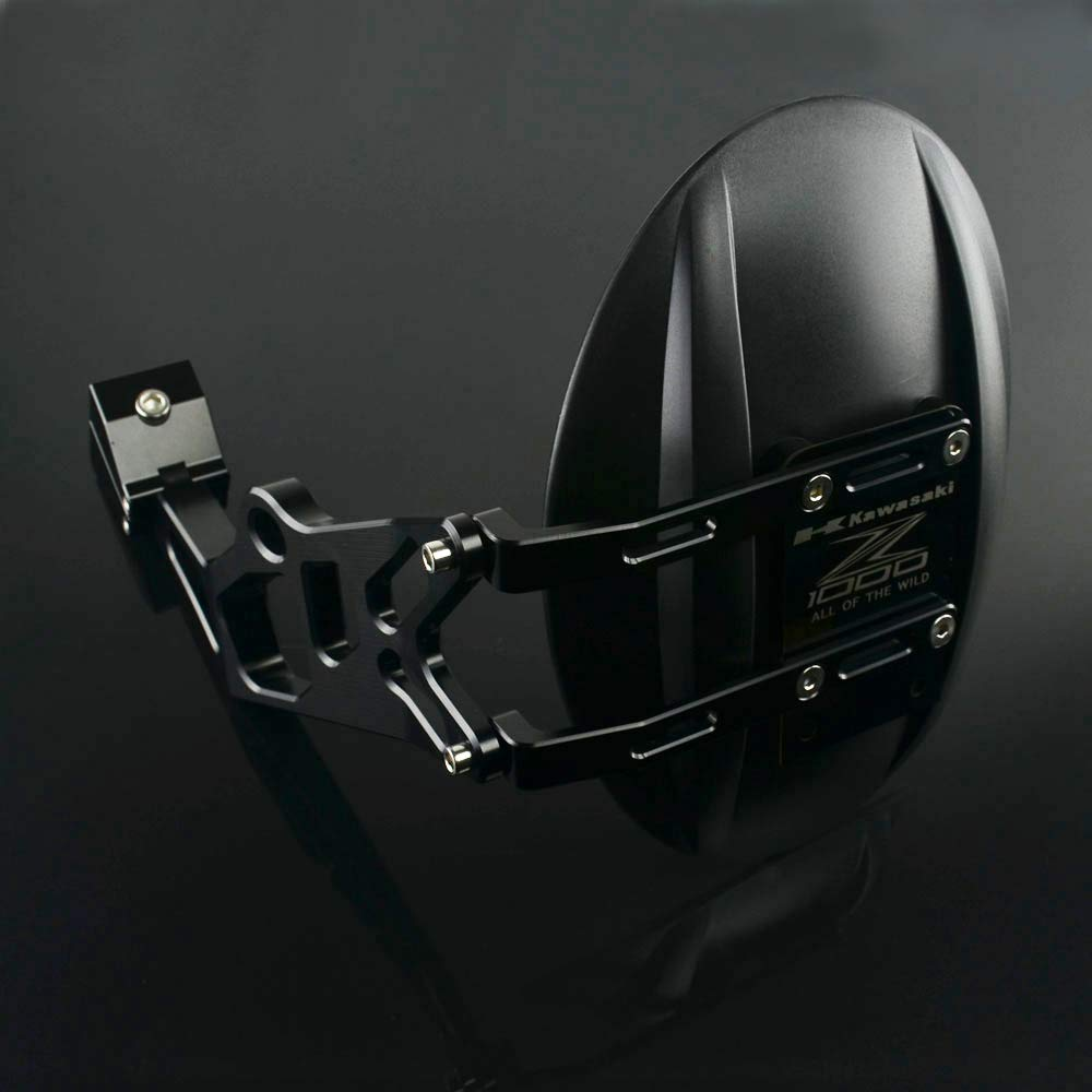 Schnell Pro Motorrad CNC Black Mud Guard Fender Fender R/ücklicht Schutzblech Rad Hugger Kawasaki Z1000/Z1000SX