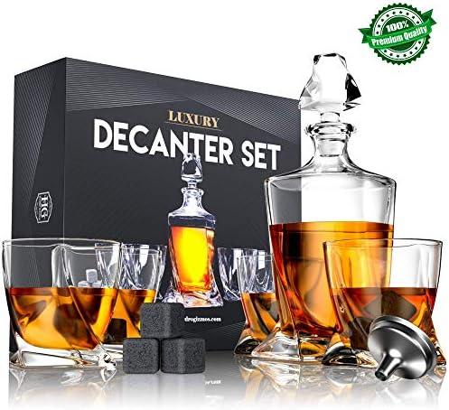 Premium Glass Decanter Liquor Glasses product image