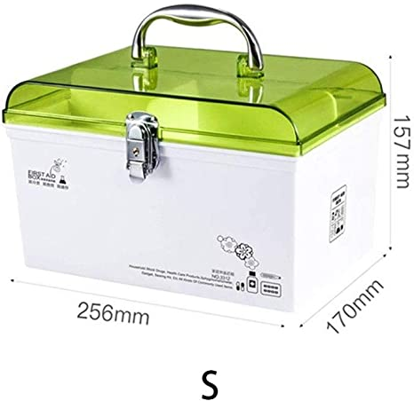Botiquín HTTYX Inicio Botiquín de primeros auxilios Caja de almacenamiento de medicina de emergencia Recogedor de medicamentos de múltiples capas portátil Organizador de cuidado de la salud Estuche Me: Amazon.es: Hogar