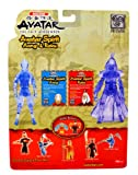 Mattel Year 2006 Nickelodeon Avatar The Last Airbender Air Series Exclusive 2 Pack 6 Inch Tall Action Figure - AVATAR SPIRIT Aang with Spirit Staff and Roku with Water Blast and Fire Blast