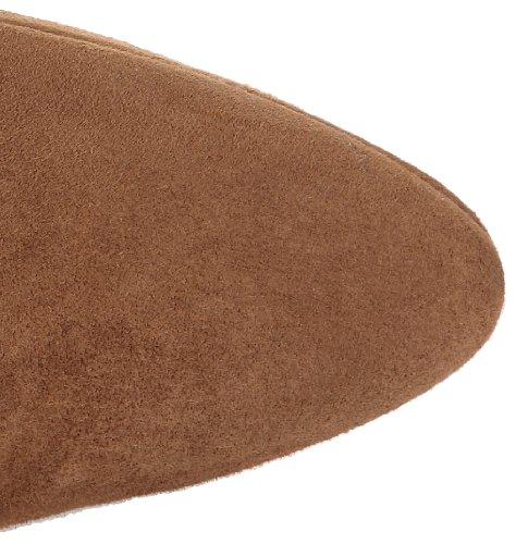 Studio Paloma Betty - Botas de cuero mujer marrón - Braun (Marron (Forrado Plata Ante 3))