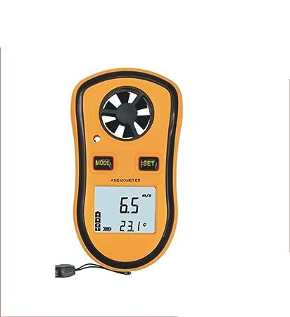 Sensor de Velocidad del Viento de la estación meteorológica, Pantalla Digital led Inteligente Medición de