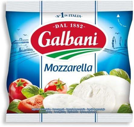 Galbani(ガルバーニ) モッツァレラ 125g モッツアレラチーズ フレッシュ モッツァレラ バッカ