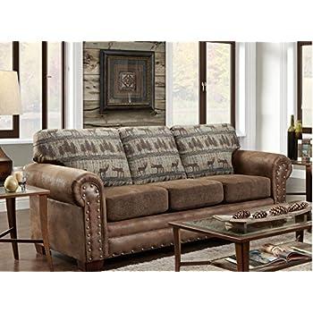 Amazon Com American Furniture Classics Deer Teal Lodge
