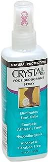 product image for Crystal Body Deodorant Foot Spray, 4 Fluid Ounce