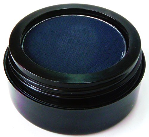 Pure Ziva Matte Navy Blue Wet Dry Pressed Powder Cake Eyeliner Eyeshadow, Gluten Free, No Animal Testing & Cruelty Free (Best Mac Eyeshadows For Blue Eyes)