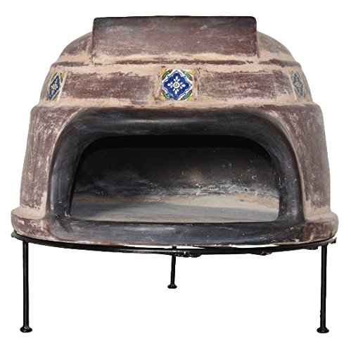 Find Bargain Talavera Tile Clay Pizza Oven by Ravenna
