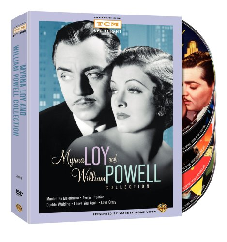 Myrna Loy and William Powell Collection (Manhattan Melodrama / Evelyn Prentice / Double Wedding / I Love You Again / Love - Melodrama Manhattan