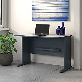 Series A 48W Desk in Slate and White Spectrum