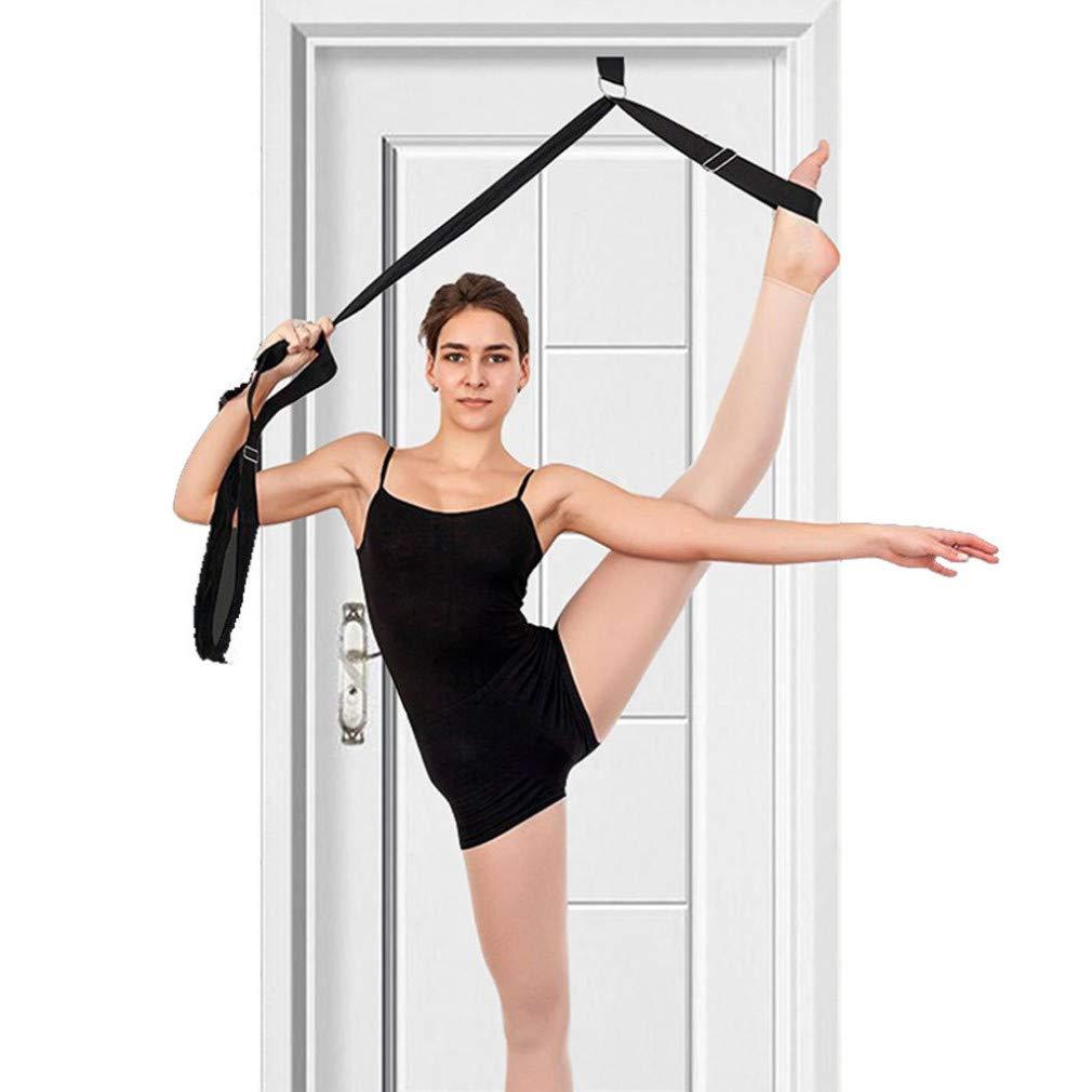 Nsblln Door Flexibility Stretching Leg Stretcher Strap For Ballet Dance Yoga Stretcher Trainning Yoga Flexibility Leg Stretch Belt Sports equipment for the fitness movement