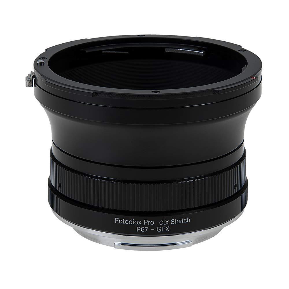 Fotodiox DLX ストレッチレンズマウントアダプター Pentax 6x7レンズからFujifilm GFX Gマウントミラーレスカメラに対応 B07Q1YXSX4