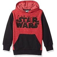 Star Wars Big Boys' Logo Pullover Hoodie