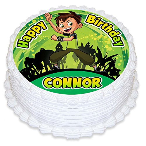Ben 10 Edible Cake Image Personalized Topper Icing Sugar Paper 8
