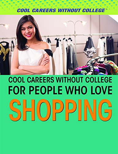 Download Cool Careers Without College for People Who Love Shopping pdf