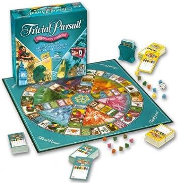 Hasbro Juegos de Adultos Trivial Pursuit Edicion Familia 73011105 ...
