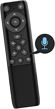 Voz Bluetooth inalámbrico de Control Remoto 2.4G para TV Stick, Smart TV, Caja de Android TV: Amazon.es: Deportes y aire libre