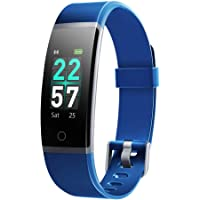 LETSCOM Fitness Tracker with Heart Rate Monitor, Color Screen Activity Tracker Watch, IP68 Waterproof Pedometer Sleep…