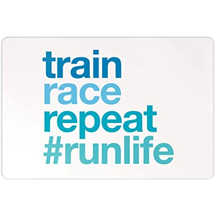 Amazon.com: Gone For a Run | Running Aluminum Room Sign | 18 ...