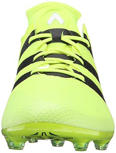 Scarpa Da Calcio Adidas Performance Mens Ace 16.2 Primemesh Fg / Ag Solare Giallo / Nero / Argento Metallizzato