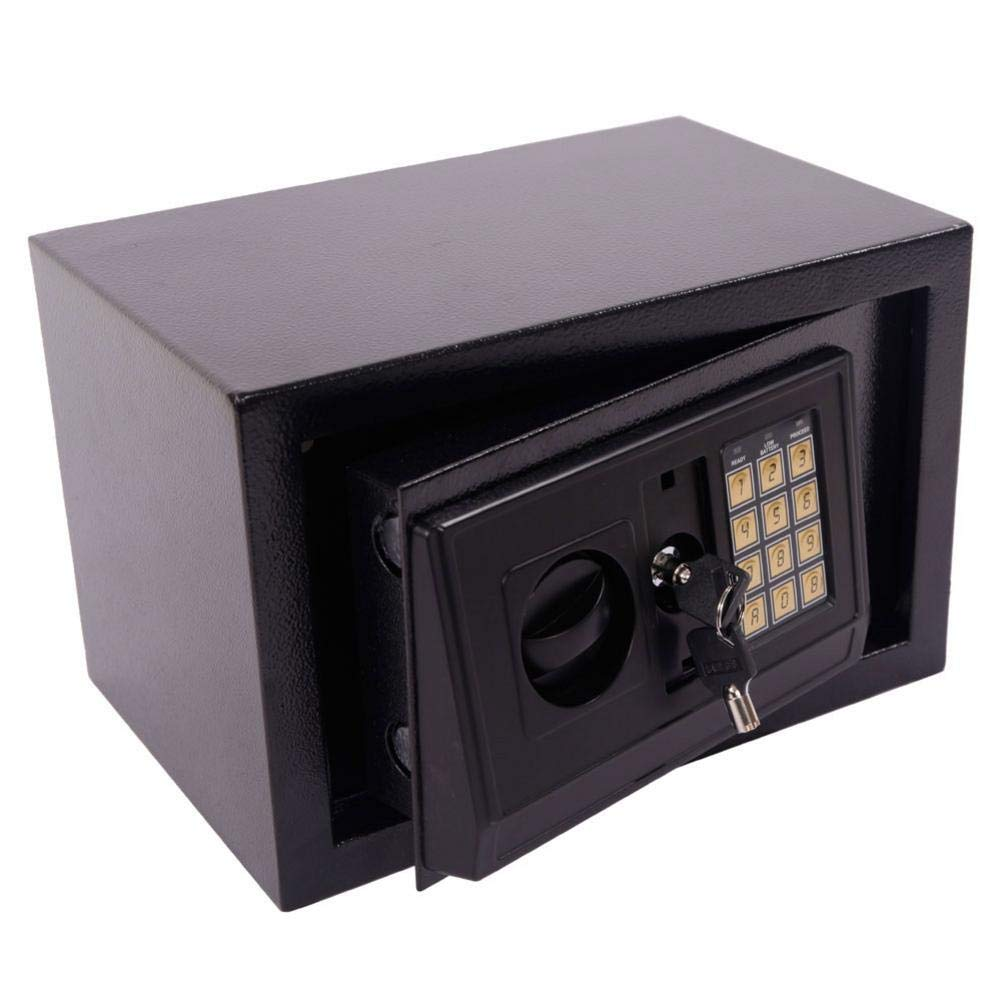 Security Safe Box Fireproof Waterproof Electronic Safe Lock Box Cash Strongbox Solid Steel Safety Jewelry Storage Money Boxes