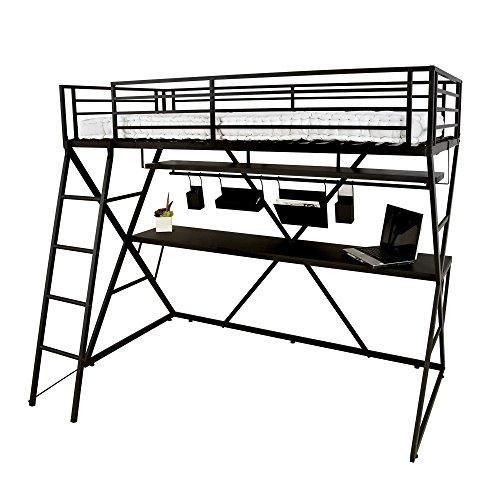 lit mezzanine iks. Black Bedroom Furniture Sets. Home Design Ideas