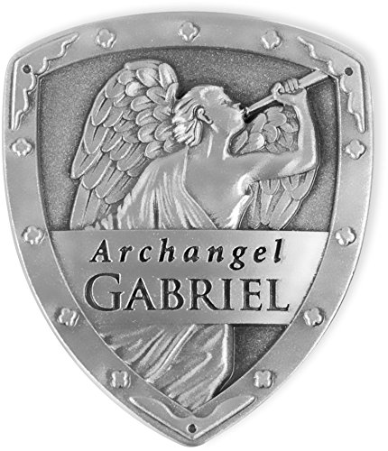 Angelstar 15511 Archangel Pocket Shield Token, 1-1/4 by 1-Inch, Gabriel (Gabriel 1)