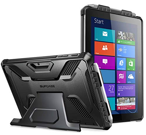 SupCase [UB PRO Series] Case for Microsoft Surface Go, Full-Body Kickstand Rugged Protective Case for Surface Go 10 inch 2018 (Compatible with Surface Go Keyboard) with Surface Pen Version (Black)